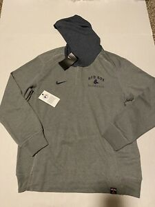 Boston Red Sox Nike Flux Baseball  L/S Hoodie Size: M NWT Gray $75