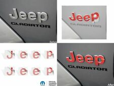 2020 2021 Gladiator Jeep Fender Badge Overlay Decal Stickers