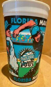 Florida Marlins Inaugural Year 1993 Drinking Cup Joe Robbie (Hard Rock) Stadium