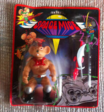 VINTAGE SPACE MICE FIGURE WITH SILVER SWORD KO MOC