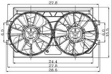 Global Parts Distributors 2811489 Radiator Fan Assembly