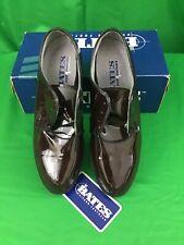 NEW Bates Women's Lites Oxford High Gloss Brown Uniform Class A Shoes Size 10 M