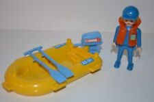 Playmobil visser met boot 3574 (8714)