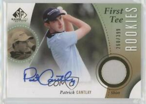 2014 SP Game Used Edition First Tee Rookies /399 Patrick Cantlay #36 Rookie Auto