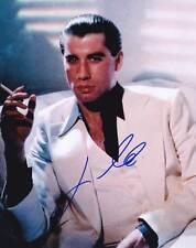John Travolta AUTHENTIC Autographed Photo COA SHA #74444