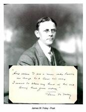 Jack Foley Autograph Charles Olson's Maximus Poems choruses Poet Gershwin