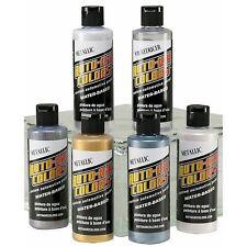 Airbrush Paint - Auto Air Colors - 4950-04 Metallic Set 6 x 4oz