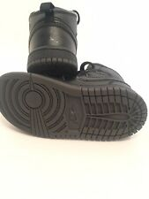 Air Jordan Toddler Girl's Black Shoes Size 8