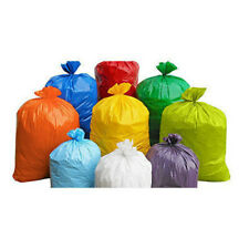 More details for all coloured refuse sacks bin bags 150g rubbish scrap waste large xl strong