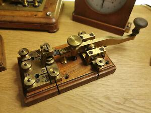 very rare Oller Ericsson type swedish camel back morse telegraph key