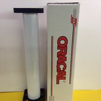 """Oracal 651 1 Roll 24""""x 10 yd (30ft) Gloss White Sign Vinyl by precision62"""