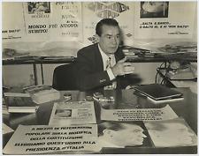 Tito Caruso  Vintage silver print Tirage argentique  24x30  Circa 1968