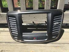 2016 16 2015 15 Chrysler 200 Dash Radio Trim Bezel Black 8.4 Nav screen GPS