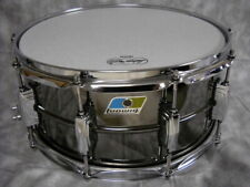 USA Ludwig 6 1/2 X 14 Black Beauty Snare Drum