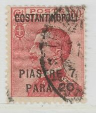 Italy Colony Levant Costantinople Surcharged 1923 7,20 on 60c Used A18P43F507