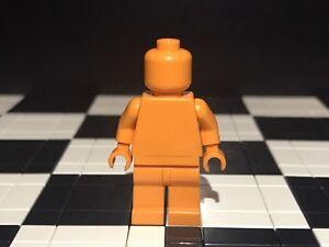 Lego Plain Orange Monochrome Minifigure