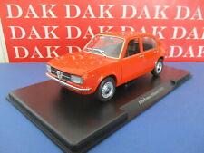 Die cast 1/24 Modellino Auto Alfa Romeo Alfasud arancio 1972