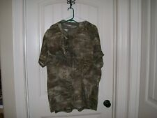 NEW! REAL TREE MENS CAMOUFLAGE SHORT SLEEVE T-SHIRT SIZE LARGE