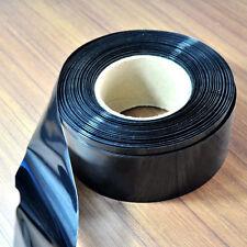 117mm Black PVC Heat Shrink Tube Tubing RC LiPO NiMH NiCd Battery Shrinking Case