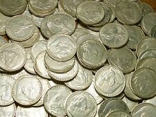 1936-1939 SILVER 5 MARK NAZI COINS W/ SWASTIKA  5 REICHSMARKS - CIRCULATED