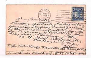 USA Cover REMARKABLE ADDRESS Social Services CHARITY EDUCATION London 1930 VV476