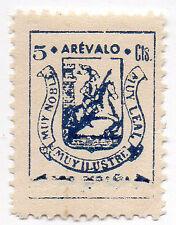 Sello Local Guerra Civil Arevalo -Cat. Galvez 71A variante.  ORD:31