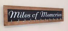Miles Of Memories -  12 hook Black Runner/Sports Medal Hanger/Holder/Display