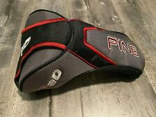 EXCELLENT Ping Authentic OEM G20 Black Grey Driver Headcover Cover