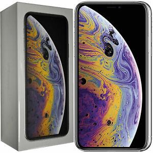 BNIB Apple iPhone XS Dual Sim 64GB + 4GB Silver Factory Unlocked 4G/LTE GSM