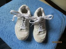 silver trainers with laces size uk kids 12