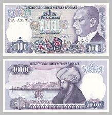 Turchia/Turkey 1000 LIRA 1986 p196 unz.