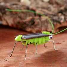 Educational Solar Energy Powered Grasshopper Robot Toy Gadget For Kids