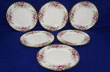 "Royal Albert Autumn Roses (6) Salad Plates, 8 1/8"""