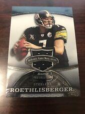 2008 Bowman Sterling Ben Roethlisberger Jersey /389 Steelers