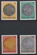 Luxemburg postfris 1980 MNH 1003-1006 - Munten uit de Middeleeuwen