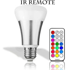 Smart LED light Bulb Wi-Fi/IR RGB Multi Color Dimmable Work Alexa Google Home