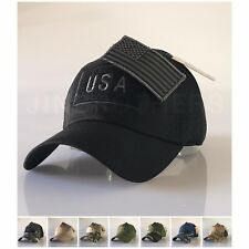 USA American Flag Patch Hat Military Tactical Operator Detachable Baseball Cap