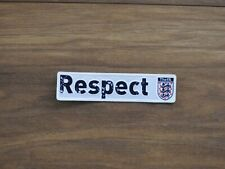 THE FA Respect soccer patch badge England FA CUP football Badge Player Issue