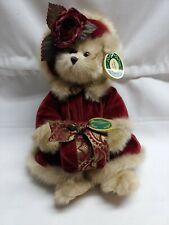Bearington Collection Christmas stuffed plush Virginia bear 1072