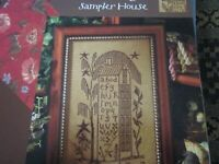 CS150,  Blackbird Designs, Sampler House, OOP, NEW, 2003