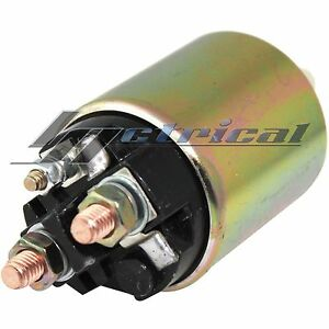 STARTER SOLENOID 3 TERMINAL MOUNTING HOLE Fits CHEVY SILVERADO 1500 2500 3500 HD