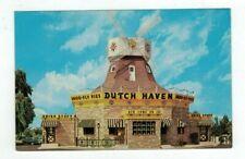 PA Lancaster Pennsylvania vintage post card Dutch Haven Shoo-Fly Pie Restaurant