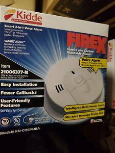 Kidde KN-COSM-IBA Smoke & Carbon Monoxide Alarm Wire-In AC-Battery backup 2021