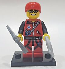 "LEGO Collectible Minifigure #71002 Series 11 ""MOUNTAIN CLIMBER"" (Complete)"