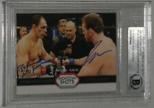 Antonio Rogerio Nogueira Ryan Bader Signed UFC 2011 Topps Showdown Shot Card BAS