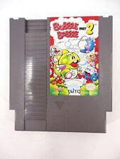 RARE VINTAGE NINTENDO NES BUBBLE BOBBLE 2 1993 AUTHENTIC CARTRIDGE - GAME ONLY