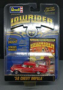 Revell 1/64 Lowrider Movie MAGAZINE 58 CHEVY IMPALA Diecast Car Model