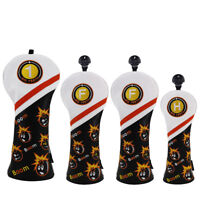 Golf Wood Head Covers Protector Bomb Set for Taylormade Callaway Titleist US