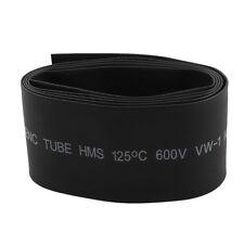 30mm 2:1 Black Polyolefin Insulation Heat Shrink Tubing 1M  K7P6