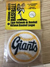 "Vintage Early 1970s San Fransisco Giants 2 "" Patch Crest"